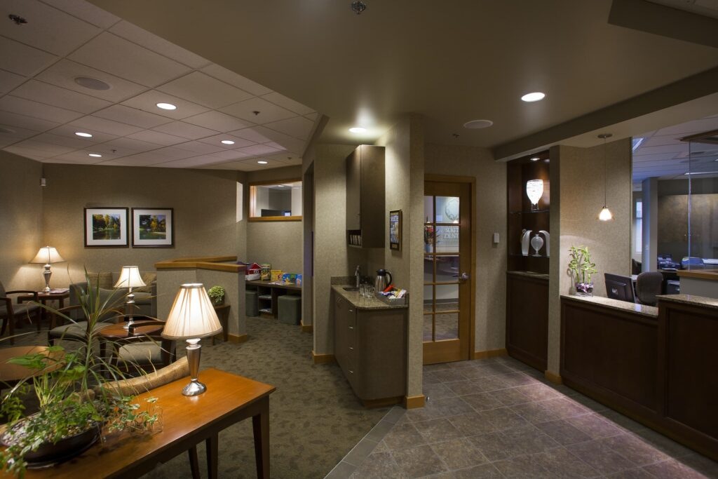 North Seattle Dental Lobby