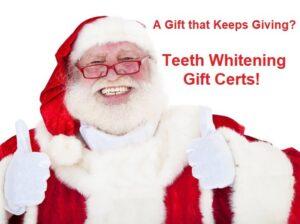 Teeth Whitening Gift Certs