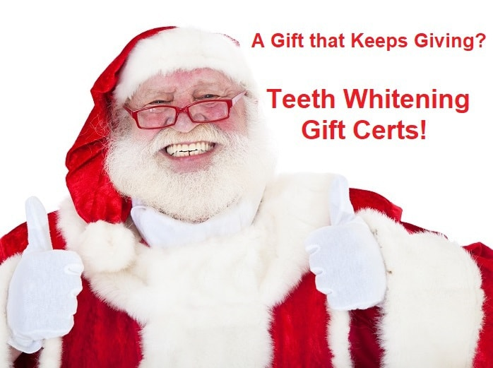Teeth Whitening Gift Certs